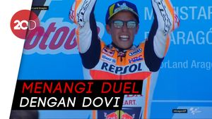 Marquez Jadi yang Tercepat di GP Aragon