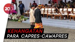 Momen Hangat Jokowi-Prabowo dan Ma'ruf-Sandiaga