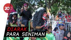 Naik Singa Depok, Ridwan Kamil Mulai Kampanye untuk Jokowi