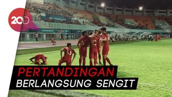 Timnas U-19 Imbang Lawan Thailand di PSSI Anniversary Cup