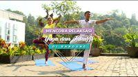 Mencoba Relaksasi Yoga dan Jakuzzi, Bandung