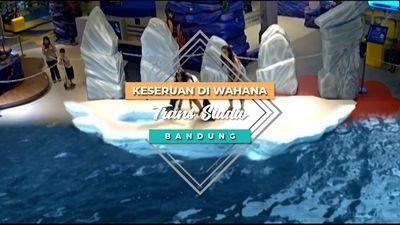 Keseruan di Wahana Trans Studio, Bandung