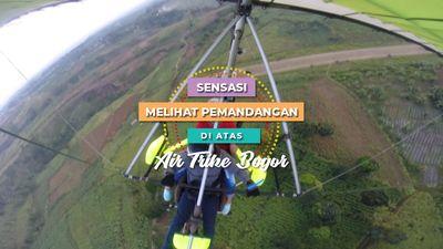 Sensasi Melihat Pemandangan di Atas Air Trike Bogor