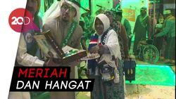 Jemaah Haji Indonesia Cicipi Kemeriahan HUT Arab Saudi