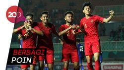 Timnas U-16 Indonesia vs Vietnam Berakhir Imbang 1-1