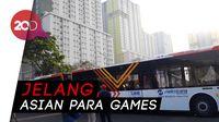 1000 Bus Disiapkan Untuk Transportasi Asian Para Games