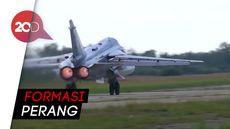 Aksi-aksi Memukau Jet Tempur Rusia