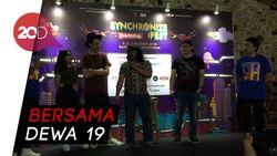 Ari Lasso dan Once Siap Diadu di Synchronize Fest 2018
