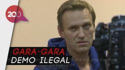 Baru Bebas, Pemimpin Oposisi Rusia Navalny Kembali Ditahan