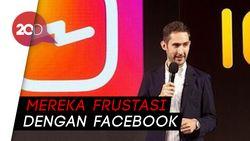Bersitegang dengan Mark Zuckerberg Jadi Alasan Bos Instagram Hengkang