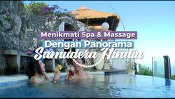 Menikmati Spa dan Massage dengan Panorama Samudera Hindia