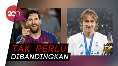 Barca: Selamat Modric, tapi Messi Tetap Terbaik