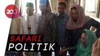 Disambut Yenny dan Mahfud, Maruf Amin Sambangi Istri Gus Dur