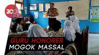 Guru Honorer Mogok Ngajar, Polisi Blitar jadi Guru SD