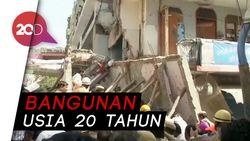 Gedung 4 Lantai Runtuh, 5 Tewas 7 Terluka