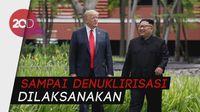 Trump Puji Kim Jong Un, Tapi Sanksi Buat Korut Tetap Jalan