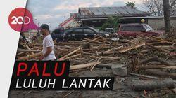 Pemandangan Kerusakan Palu Akibat Gempa-Tsunami dari Lensa Drone