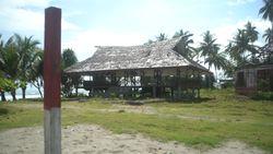 Tangfa, Balai Adat Suku Skouw yang Kini Ditinggalkan