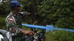 Patroli Jalan Tikus di Perbatasan Indonesia-PNG