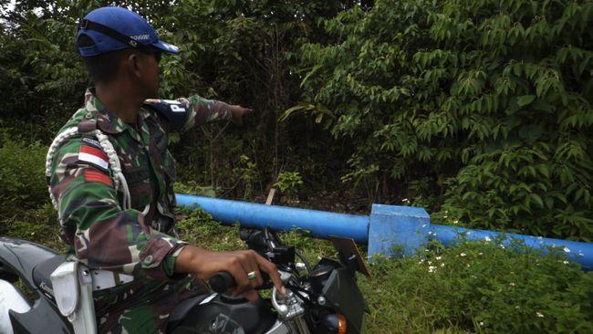 12 Jalan Tikus Di Jakarta Nyang Udeh: Patroli Jalan Tikus Di Perbatasan Indonesia-PNG