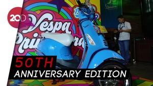 Vespa Primavera Spesial Lahir di Ulang Tahunnya ke-50