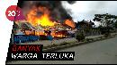 Bentrokan Warga di Oksibil Papua, Puluhan Rumah Terbakar