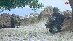 Patroli Patok Menyusuri Perbatasan RI-PNG
