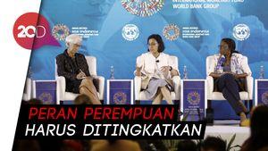 Sri Mulyani Dorong Perempuan Jadi Penggerak Perekonomian