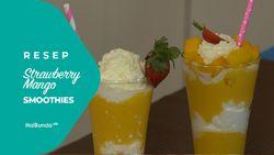 Resep Strawberry Mango Smoothies