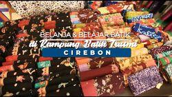 Ternyata di Cirebon Terdapat Pengrajin Batik Juga Lho.