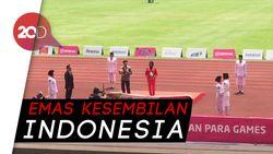 Kharisma Raih Emas Usai Finis Terdepan Lari 100 Meter