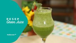 Resep Green Juice