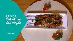 Resep Sate Udang Saus Mangga