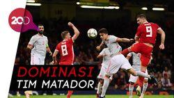 Spanyol Gulung Wales 4-1 dalam Laga Persahabatan