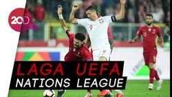 Tanpa Ronaldo, Portugal Ungguli Polandia 2-3