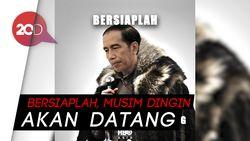 Meme Jokowi Winter is Coming Dipajang HBO Asia