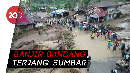 Penampakan dari Udara Banjir Bandang di Tanah Datar, Sumbar