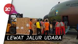 Dibantu TNI AU, CT Arsa Foundation Terus Kirim Bantuan Bencana