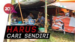 Keluh-Kesah Pengungsi Gempa Palu Susah Cari Bantuan