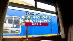 Kereta Mewah Ini Ternyata ada di Peru