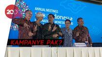 Saat Luhut Ogah Pose Dua Jari di IMF-World Bank