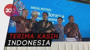 Pertemuan IMF-World Bank Ditutup dengan Manis