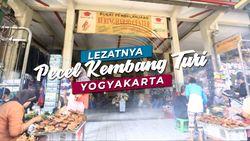 Rasa Eksotis Pecel Kembang Turi Yogyakarta