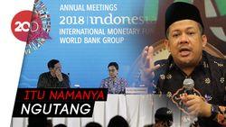 Fahri Hamzah Komentari Pinjaman Rp 15 Triliun dari IMF untuk Sulteng dan NTB
