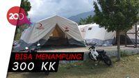 Keren! TNI dan PMI Bangun Shelter Pengungsian di Bukit Balaroa