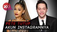 Menilik Kisah Ariana Grande dan Pete Sebelum Batal Tunangan