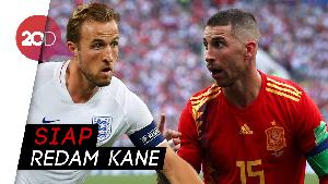 Ramos Siap Tekel Harry Kane Saat Spanyol Jamu Inggris