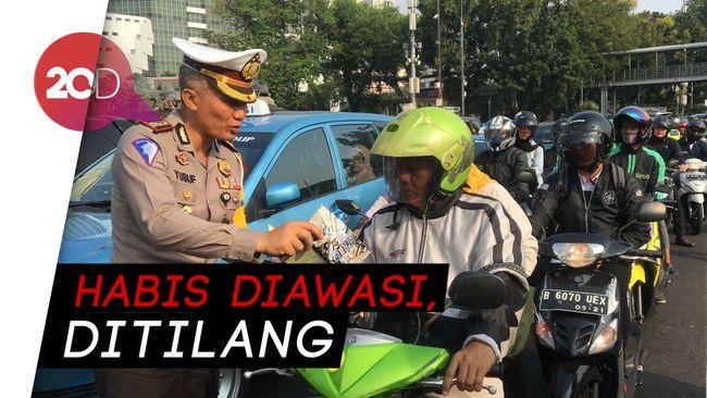 Siap-siap, Polisi Bakal Nilang Pelanggar Lalu Lintas Pakai
