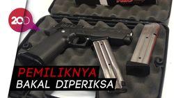 2 Tersangka Peluru Nyasar di DPR Pakai Senpi Pinjaman
