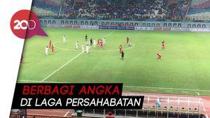 Indonesia Imbang Lawan Hong Kong 1-1